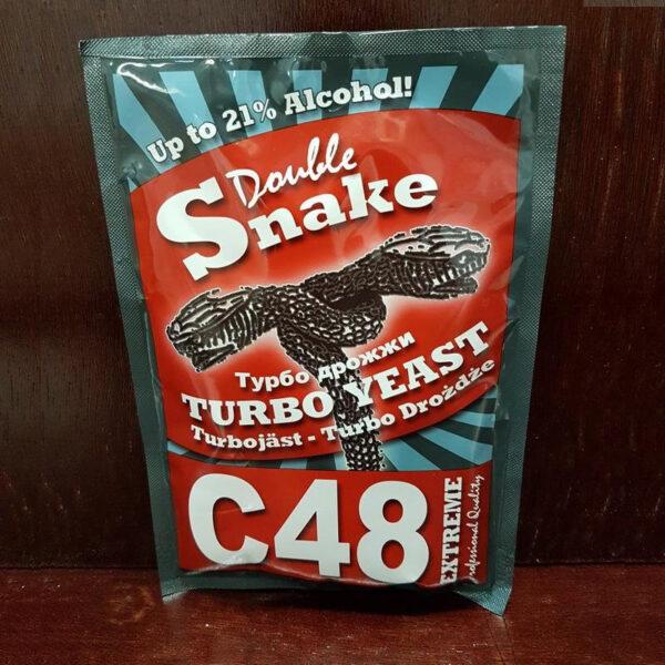Дрожжи спиртовые Double Snake C48 130 г