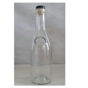 200шт Бутылка Коньячная 0.5 + пробка