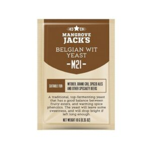 "Пивные дрожжи Mangrove Jack's ""Belgian Wit M21"", 10 г"