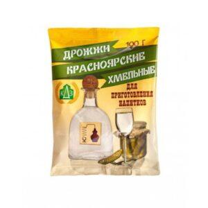 Спиртовые дрожжи Красноярские Хмельные, самогонные, 100 Г