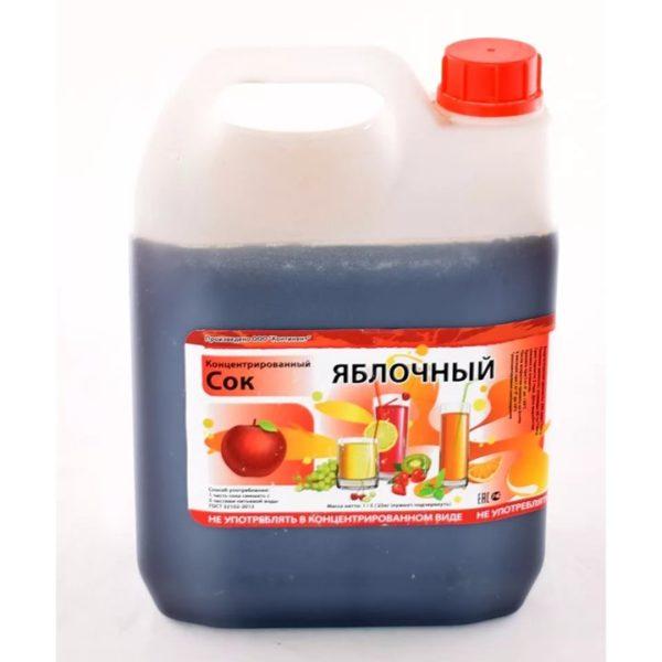 Сок концентрированный яблочный (канистра 5кг)