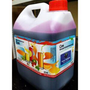 Сок концентрированный черная смородина (канистра 5кг)