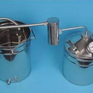 Бытовой дистиллятор ДТ13 литров дачный универсальный