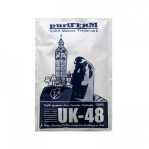 Турбо дрожжи Puriferm UK-48 Turbo