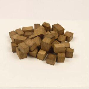 Дубовые чипсы/кубики, средний обжиг, 50 г