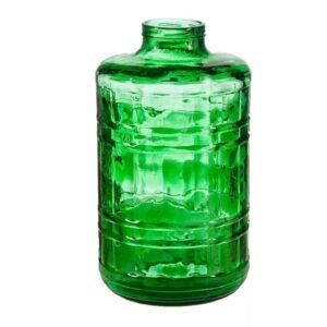 Банка стеклянная зёленая 15 литров винтовая (100)