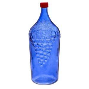 Бутыль «Виноград» 2 л (синяя)