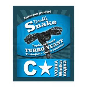 """Спиртовые дрожжи DoubleSnake """"C-Star Turbo"""", 66 г"""
