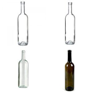 Бутылки объемом 0,7 л