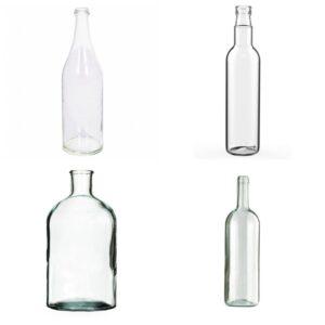 Бутылки объемом 1 л
