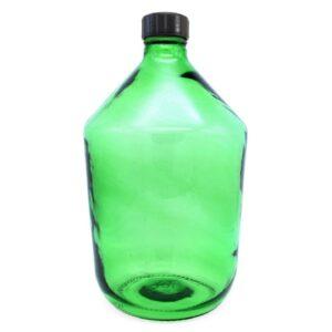 Бутыль стеклянная прозрачная 10 л (66)