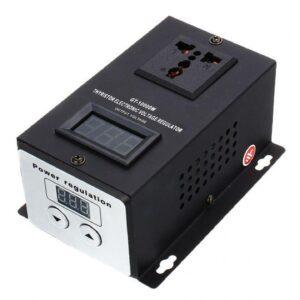 Регулятор напряжения на 10 кВт с кнопками